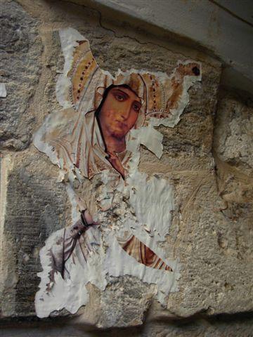 na jerozolimskim murze